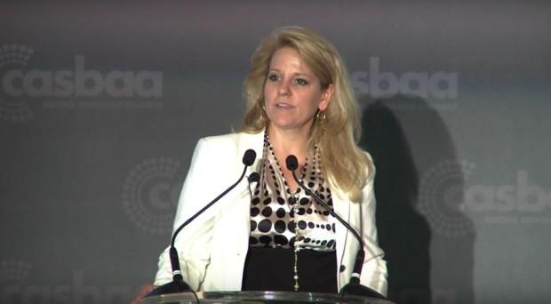 Gwynne Shotwell Speaking at CASBAA