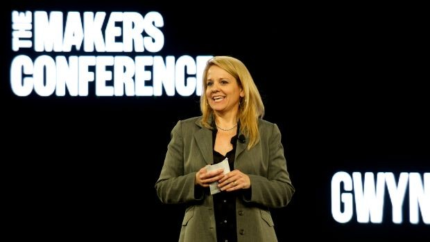 Gwynne Shotwell Speaks at 'Makers' Conference