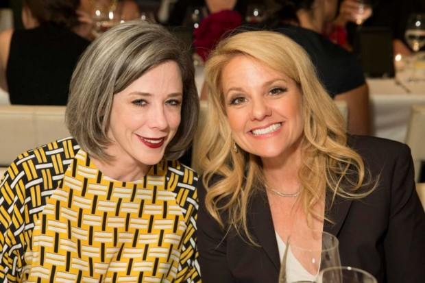 Heather Podesta and Gwynne Shotwell at ELLE's Women in Tech Power List dinner