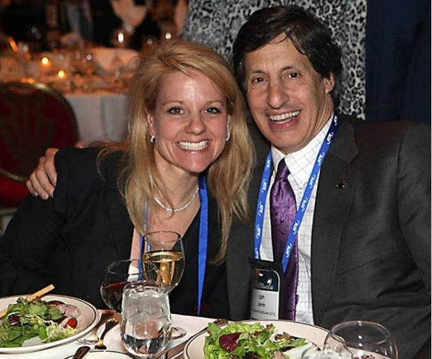 SpaceX President Gwynne Shotwell and Space Foundation Vice Chairman Lon Levin