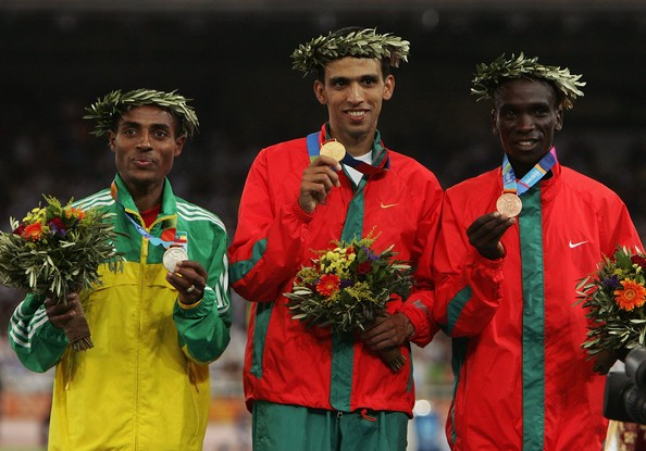 Hicham with other Olympic Winners