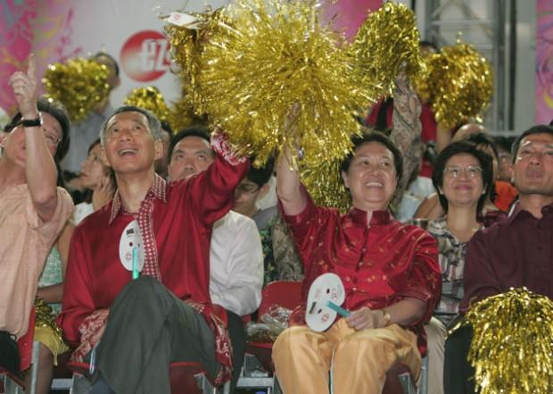 Ho Ching at Chingay Parade
