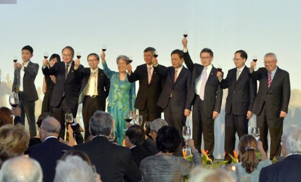 Ho Ching With Temasek's board of directors
