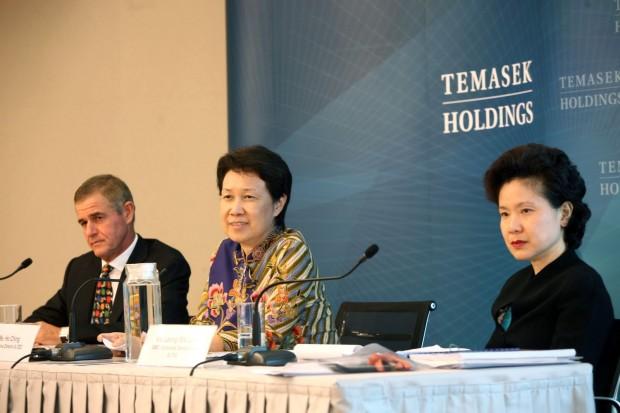 Simon Israel, Ho Ching and Leong Wai Leng