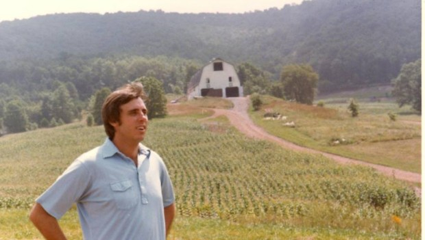Jim at his farm