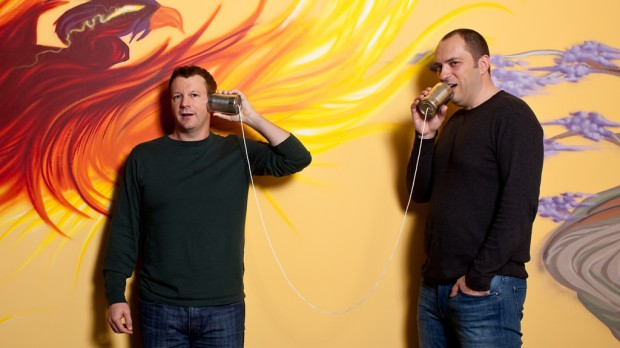 Whatsapp Founders Brian and Jan