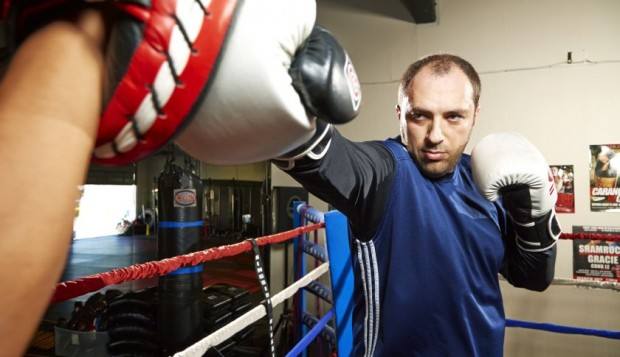 Jan Koum Practicing Boxing