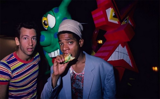 Kenny Scharf and Jean Michel Basquiat