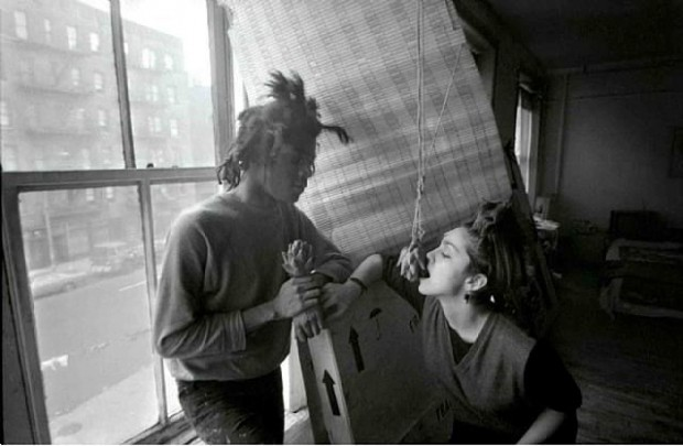 Basquiat and Madonna