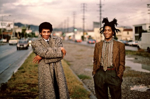 Rammellzee and Jean Michel Basquiat