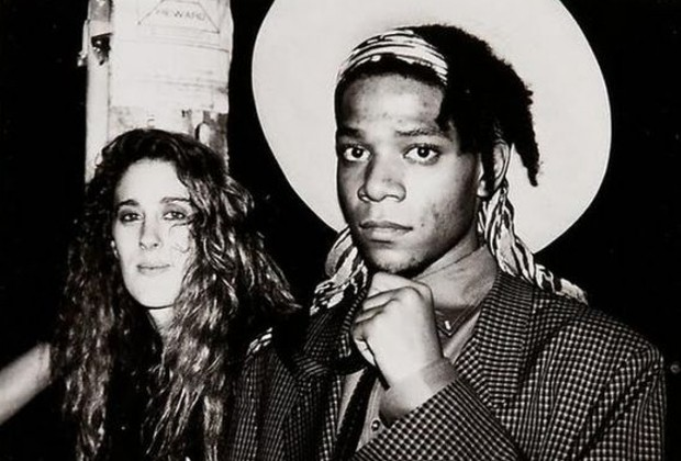 Jean-Michel Basquiat and Jennifer Goode