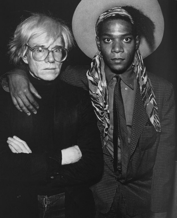 Andy Warhol and Jean Michel Basquiat