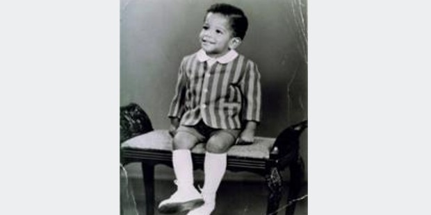 Jean Michel in his childhood
