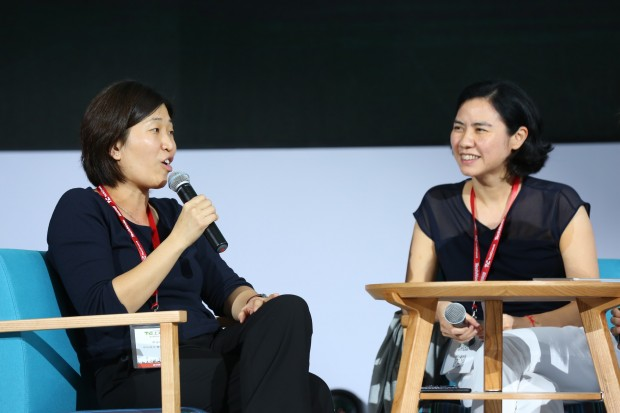 Jenny Lee at TechCrunch Shanghai