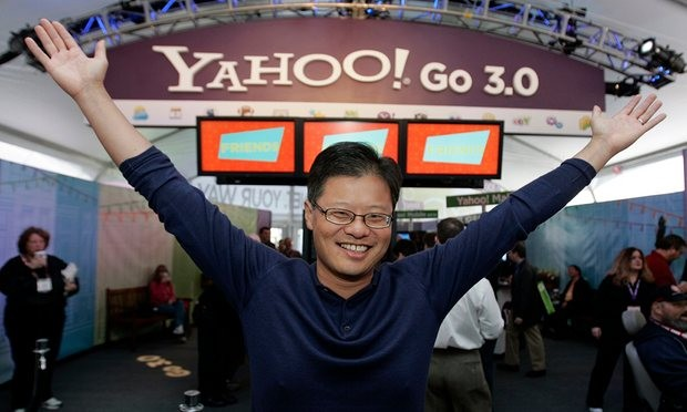 Jerry Yang at the Consumer Electronics Show in Las Vegas