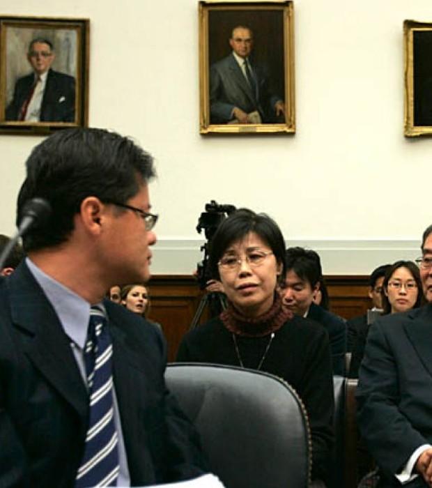 Jerry Yang with Gao Qin Sheng