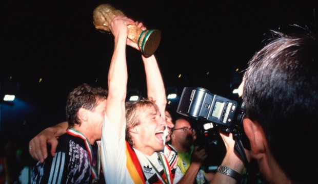 Jurgen's world cup celebrations