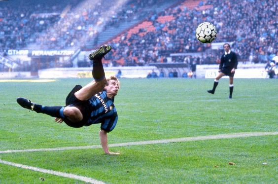 Bicycle kick by jurgen klinsmann