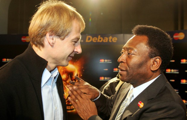 Pele and Klinsmann