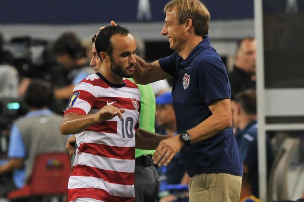 Jurgen with Landon Donovan