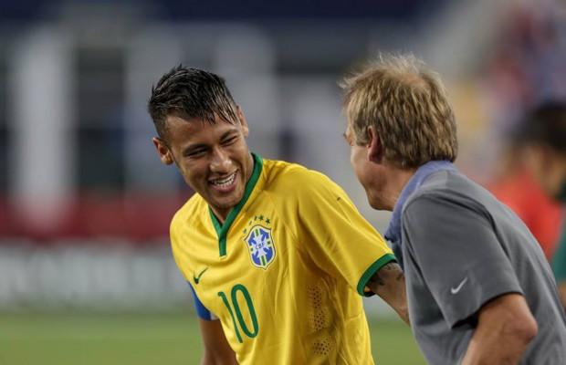 Neymar with Jurgen