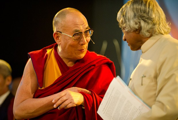 Dalai Lama in conversation with Dr. Abdul Kalam
