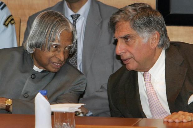 Ratan Tata with Abdul Kalam