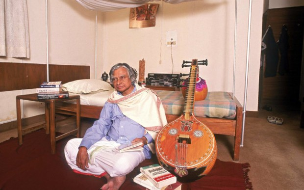Abdul Kalam is very good with palying veena