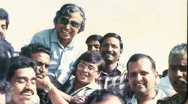 Abdul Kalam in his earlier life at ISRO