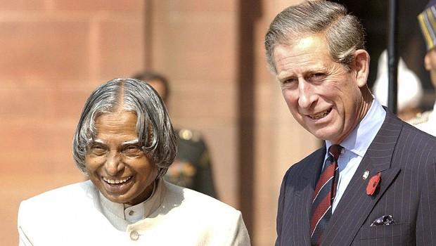 Prince Charles with Abdul Kalam