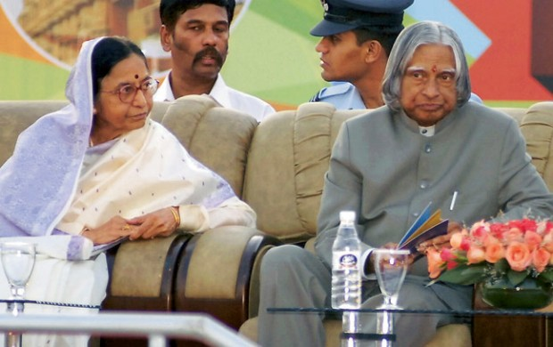 Pratibha Patil and Abdul Kalam