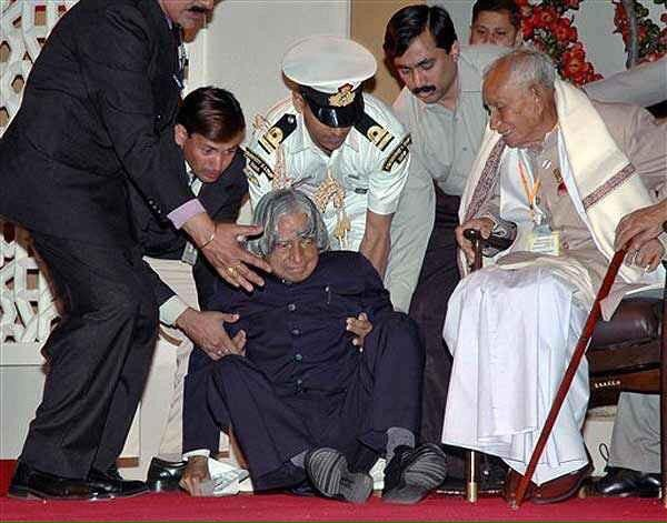 Dr. Abdul Kalam Collapsed during a lecture at IIM Shillong