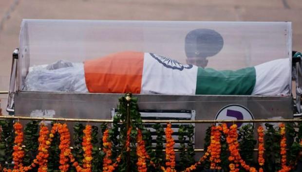 Abdul Kalam's dead body