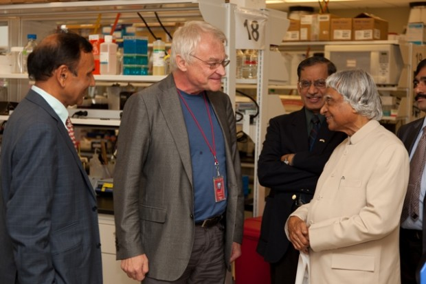 Abdul Kalam with CNRCS director Dr. Jan-Åke Gustafsson