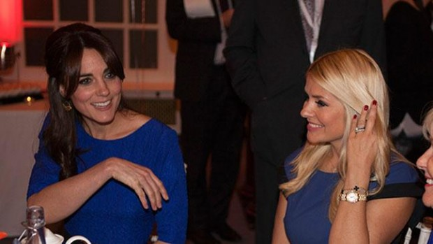 Kate Middleton and Holly Willoughby at the Fostering Excellence Awards