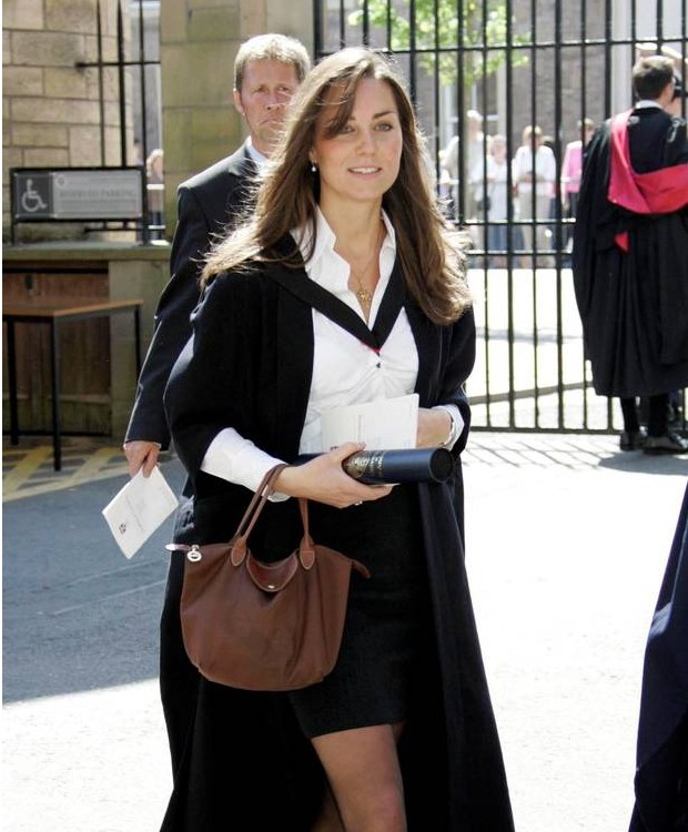 Kate Middleton during Her Graduation in 2005
