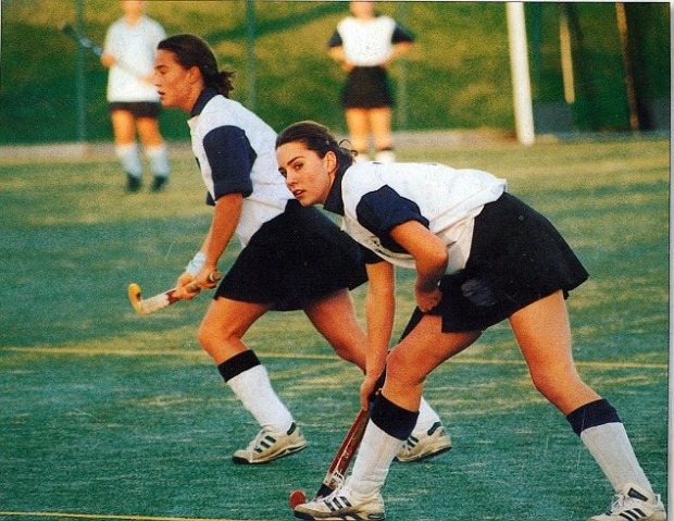 Kate Middleton Playing Hockey  in Her High School