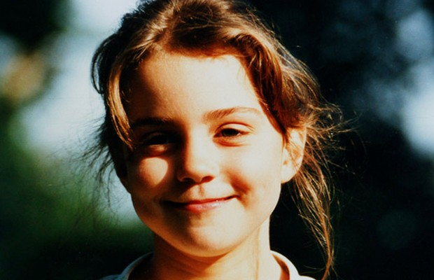 Kate Middleton at age of 5