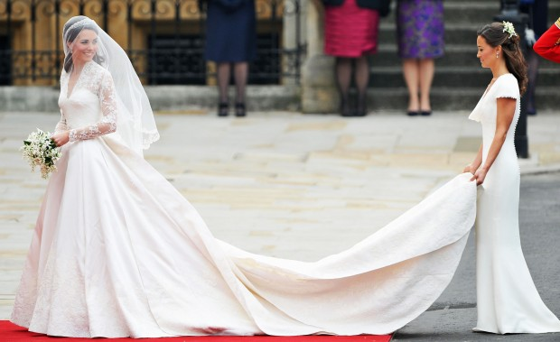 Kate's Dress on Her Wedding