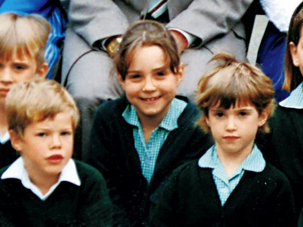 Kate Middleton in Her School Days