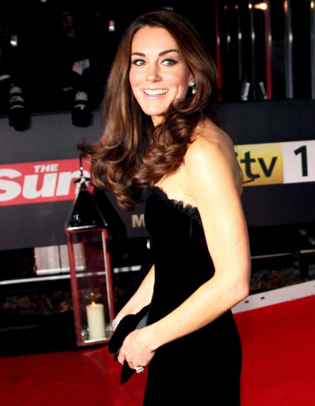 Kate Middleton at The Sun Military Awards in London
