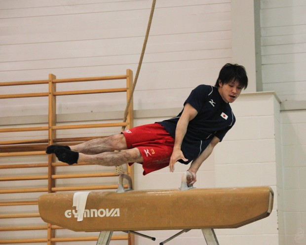 Kohei at East London Gymnastics Club