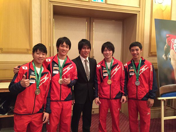 Kohei with Japan junior team