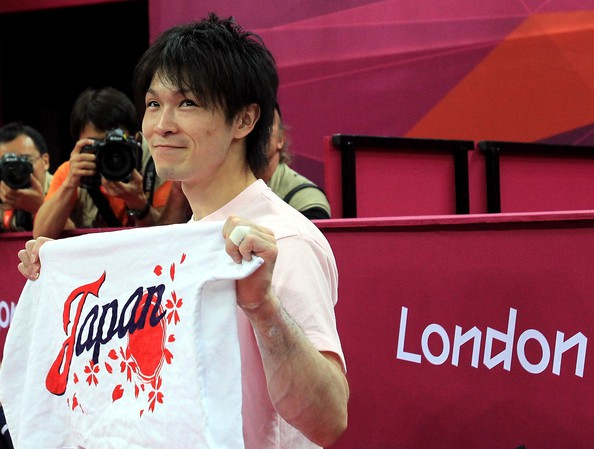 Kohei Uchimura at London Olympics