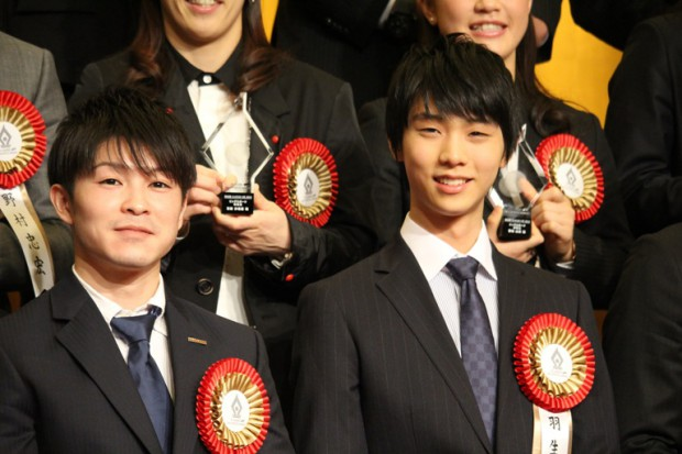 Kohei at 50th TV Asahi Big Sports Awards