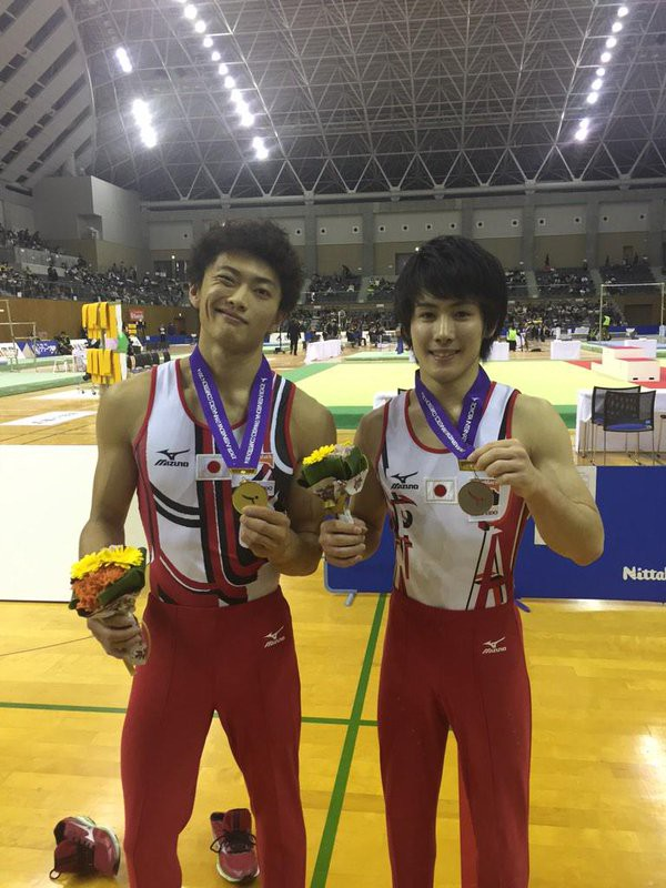 with Pommel Horse medals