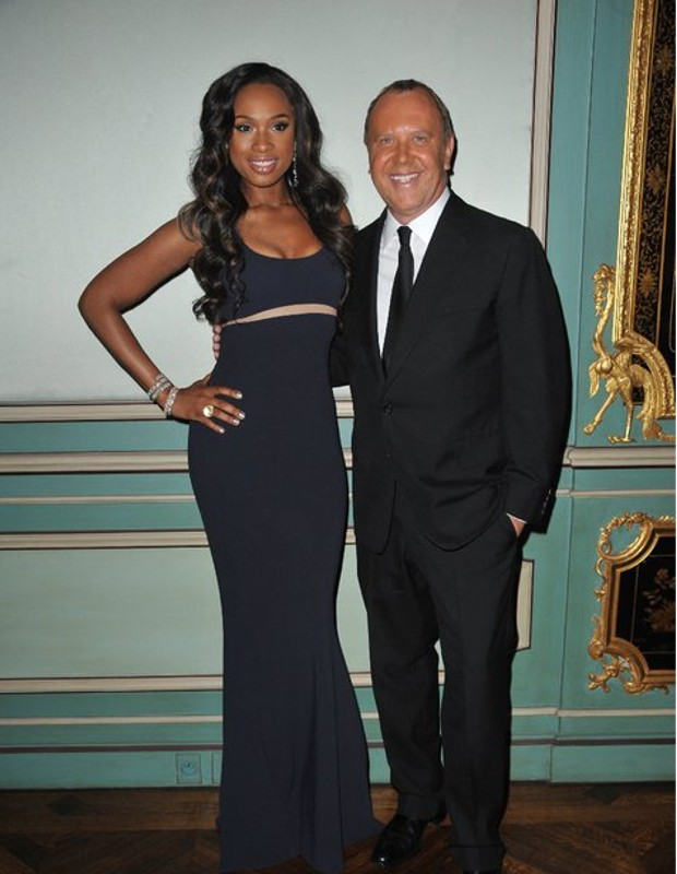 Michael Kors with Jennifer Hudson