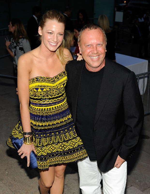 Blake Lively with Michael Kors