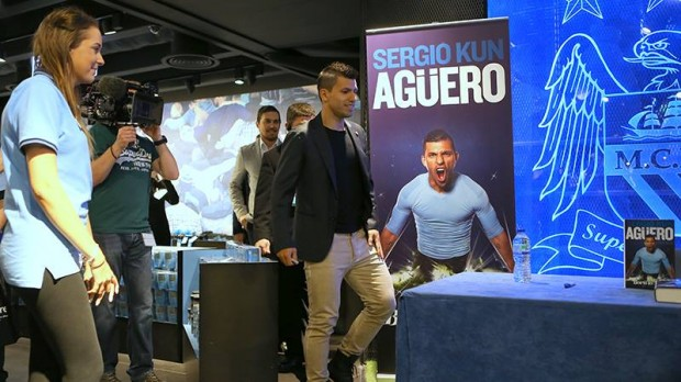 Kun Aguero at his Book Signing Event