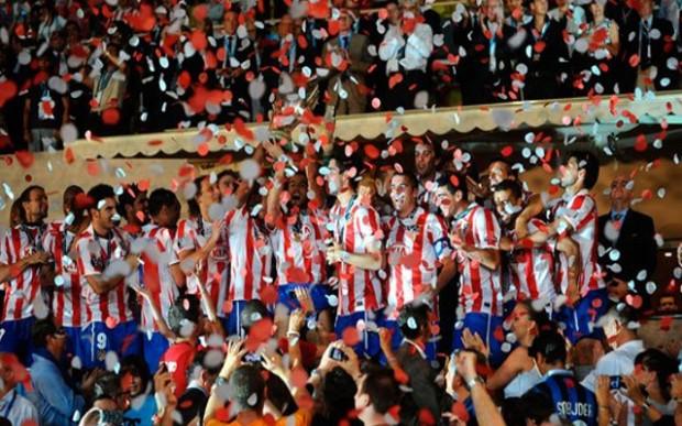 Aguero with Atletico Madrid